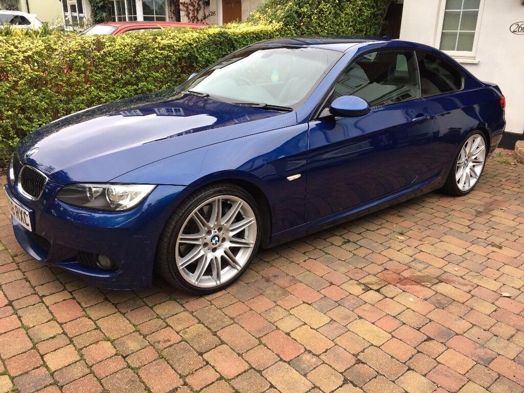 bmw 330d m sport coupe auto le mans blue sat nav in uxbridge london gumtree. Black Bedroom Furniture Sets. Home Design Ideas