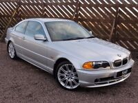 BMW E46 328ci, Manual, 1999 / V Reg, Only 53k Miles, 3 Owners, 1 Year MOT