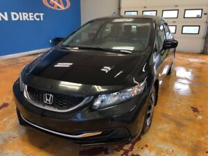 2015 Honda Civic LX AUTO/ AIR/ BLUETOOTH/ USB/ REVERSE CAM
