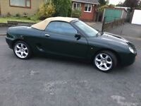 1998 Mgf Abingdon VVC in excellent condition with only 82000 miles FSH