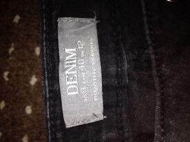 Dorothy Perkins black boot cut jeans size 12