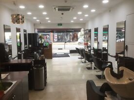 Full time hairdresser requird