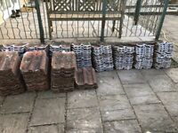 170 Double Roman roof tiles for sale