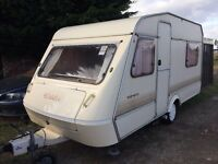 elddis 4 berth with motor mover,no bad condition for the year