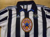 newcastle united football shirt
