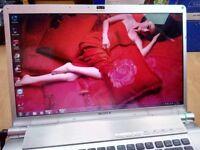 Sony core2duo full hd.1080 laptopDVD,WEBCAM WINDOWS,OFFICE