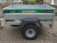 ERDE DAXARA 148.2 TRAILER 600Kg capaity, with accessories