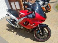 Yamaha Yzf600r thundercat 600cc sportbike ideal starter bike first bike