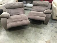 Detachable two seat sofas