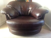 Sisi italia - Italian leather spinning seat