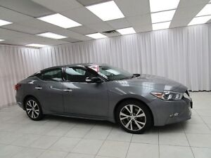 2016 Nissan Maxima SV SEDAN w/ KEYLESS ENTRY, FOG LIGHTS, CLIMAT