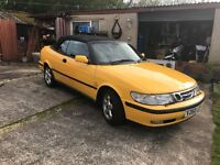 Saab 9-3 cabriolet SE executive convertible, electric hood and heated leather seats