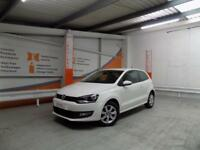 Volkswagen Polo MATCH EDITION (white) 2014-01-30