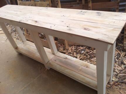 Custom kitchen pallet wood island bench or hall table Lonsdale Morphett Vale Area Preview