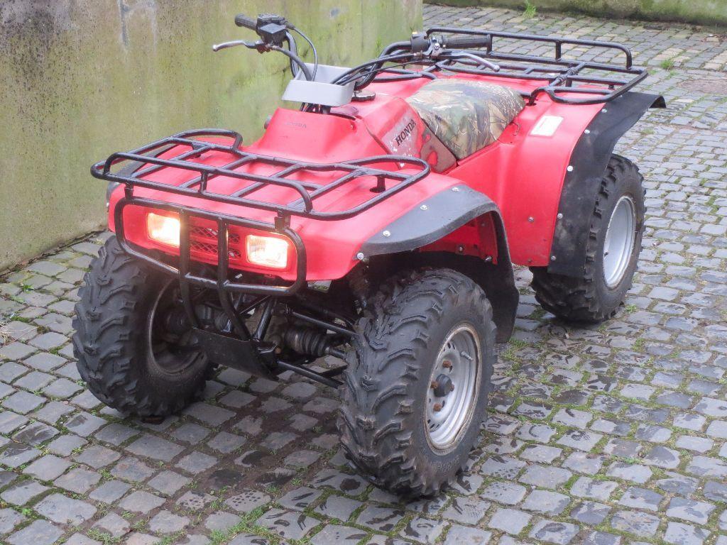 quad bike honda trx 300 big red 4x4 in heysham lancashire gumtree. Black Bedroom Furniture Sets. Home Design Ideas