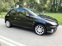 PEUGEOT 206 GTI 2004 MOTD TIL APRIL 2018 DRIVES PERFECT TEL07377926604