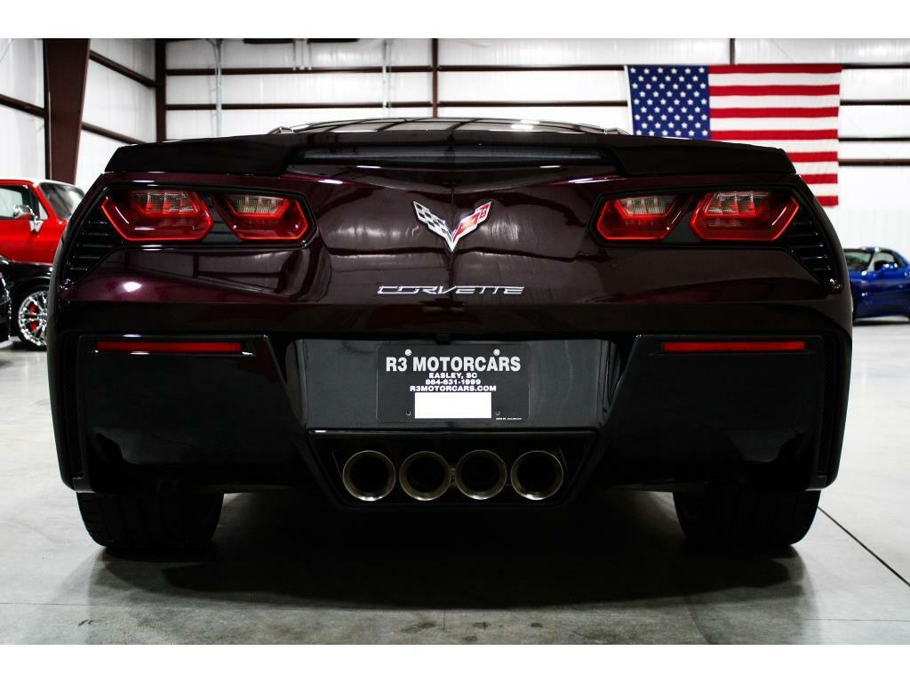 2017 Black Chevrolet Corvette Stingray 2LT   C7 Corvette Photo 4