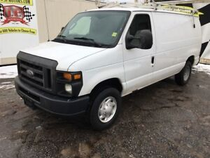 2012 Ford Econoline Commercial, Auto, Power Windows, Ladder Rack