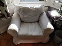 IKEA Ektorp armchair white