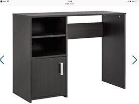 Black desk table