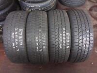 4 PW 235 60 17(102H) Bridgestone Blizzak LM25 4X4 M+S Tread 7mm-8mm