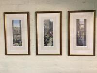 Three signed limited edition prints, norther scenes