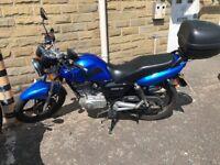 Suzuki EN125- 2A Blue 1 owner good condition 65 plate 1336mles 2155km