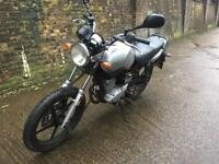 FULLY WORKING 2009 Honda YBR 125cc motorcycle 125 cc learner with 1 years mot.