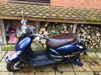 Lexmoto Verona 125 cc Less than a year old