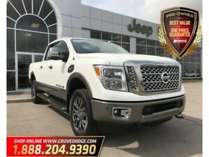 2016 Nissan Titan XD Platinum Reserve| Low KM| Leather| 4X4