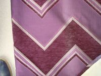 """Pair of Heavy Woven and lined curtains each 50"""" wide (127cm) 88"""" Drop (225cm)"""