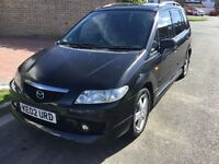 Mazda premacy 2.0 sport 2002 facelift model 5 door mpv people carrier mot February