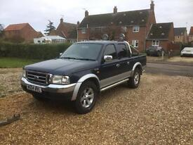 Ford ranger 2.5 tdi 4x4 double cab 04 plate will swap or. Px