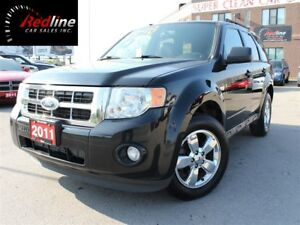 2011 Ford Escape XLT V6 4WD Leather-SYNC-Sunroof