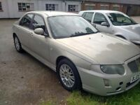 2005/05 Rover 75 CDTi 4 door saloon, top of the range Connoisseur,BMW Engine,Lady owner
