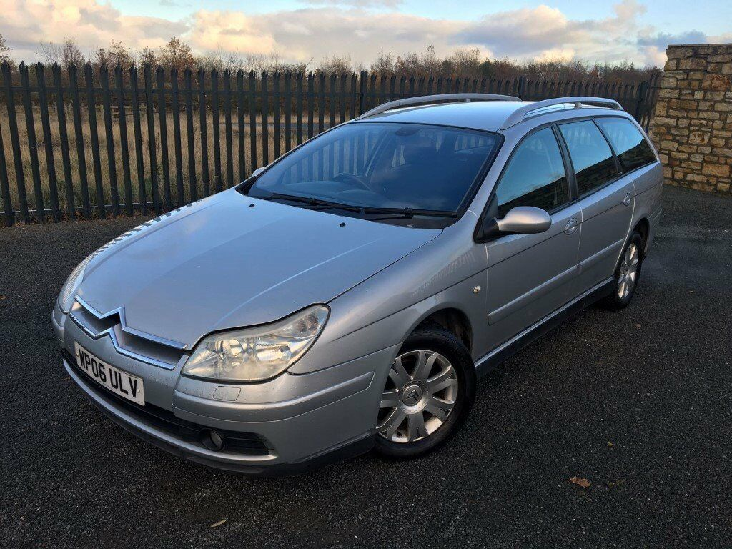 2006 06 CITROEN C5 1.6 HDI VTR *DIESEL* ESTATE CAR - *NOVEMBER 2017 M.O.T* - GOOD EXAMPLE!