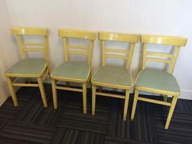 Original 1950s shabby chic chairs