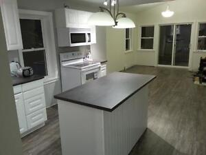 Two bedroom, main floor of newly rebuilt home on Pictou waterfro