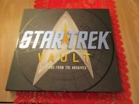 Star Trek Vault. Collector's Dream! Great Book With many Extras. Great Condition! Free Delivery!