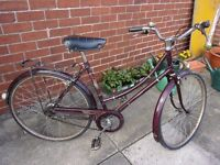 Vintage Raleigh Cameo Classic Ladies Bicycle