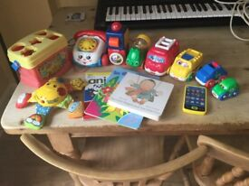 Selection of toddler toys for sale, mainly Fisher Price