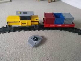 Playmobil Freight Train set