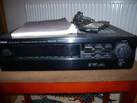 Yamaha Natural Surround AV Processor/DSP-E492