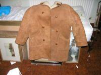 Sheepskin Coat John Motson Style 38 to 40 inch Weymouth