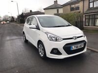 2016 (66) Hyundai i10 white maunal damaged repaired cat D car in side out condition is very good