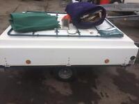 2 berth trailer tent