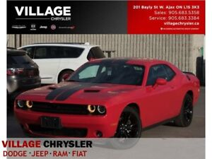 2017 Dodge Challenger SXT Plus|Black Top|Backup Cam|Leather