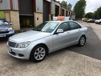 Late 2007 Mercedes C220 Diesel Automatic SE **FINANCE AND WARRANTY** (320d,a4,passat)