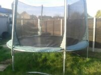 Trampoline 10ft inc netting and ladder