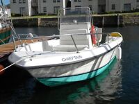 FISHER SEA PRO WITH YAMAHA 30 HP AND TRAILER - READY TO GO